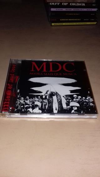 Mdc - Cd Agora Mais Que Nunca