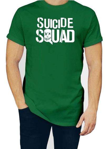 Playera Suicide Squad Escuadron Suicida Hombre P