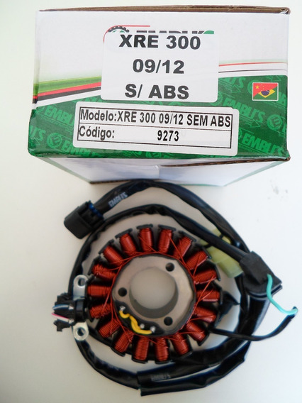 Estator Do Magneto Honda Cb300 Xre 300 De 2009 A 2013 S/ Abs
