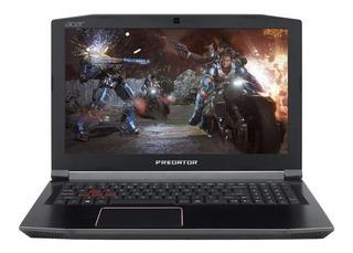 Portátil Predator Acer 70s0 Core I7 8va 16gb Gtx 1060 6gb