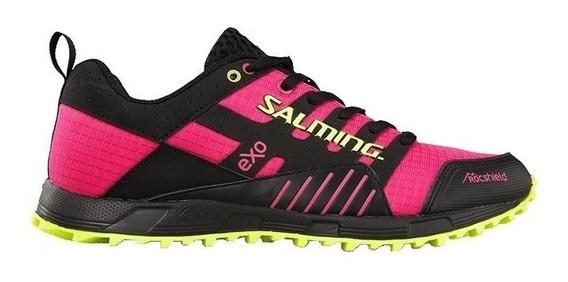 Zapatillas Salming Trail T4 Mujer Running Run Lite Exoshield