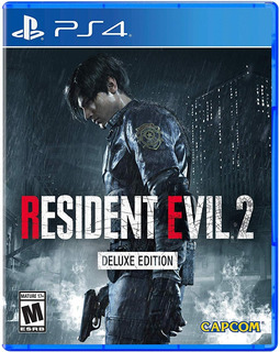 Resident Evil 2 Deluxe Edition / Juego Físico / Ps4
