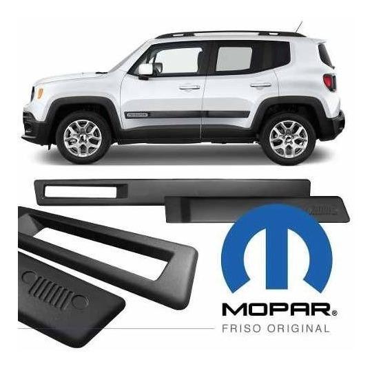 Jogo Frisos Original Mopar Jeep Renegade Pcd 2020 Original