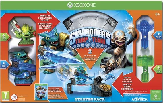 Pacote Inicial Skylanders Trap Team Starter Pack De Xbox One
