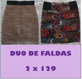 Duo De Faldas Express Y Charlotte Russe Xs Y S Oferta Moda