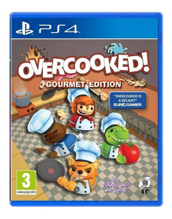 Juego Ps4 Overcooked! Gourmet Edition