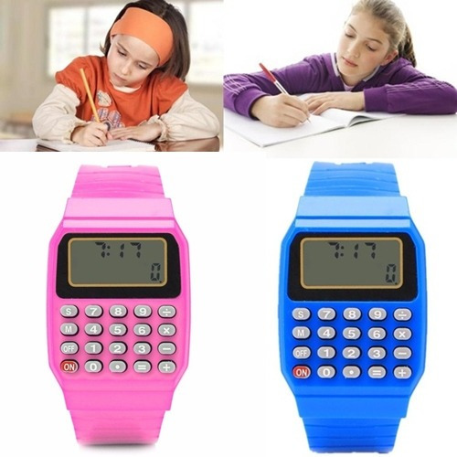 Relógio Infantil Calculadora