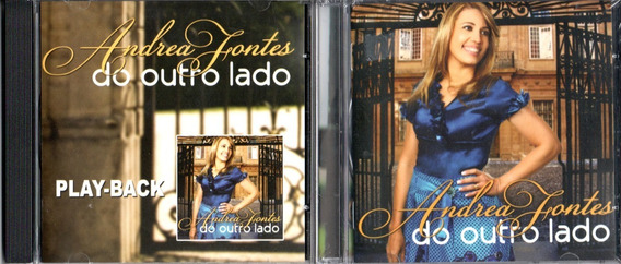 Cd + Playback Andrea Fontes - Do Outro Lado