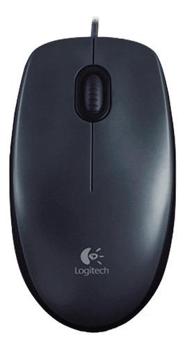 Imagen 1 de 3 de Mouse Logitech  M100 negro