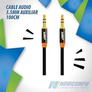 Havit Cable Audio 3.5mm Auxiliar 100cm Bocinas Hv621x Negro