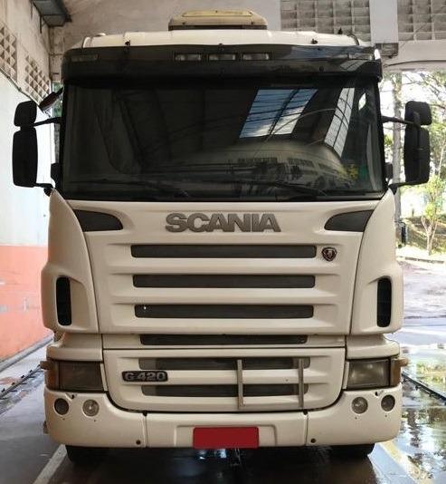 Scania G420 6x2 Ano 2008