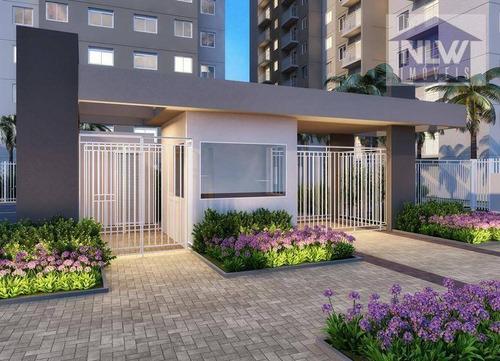 Apartamento Com 1 Dormitório À Venda, 26 M² Por R$ 156.300,00 - Sítio Pinheirinho - São Paulo/sp - Ap2593