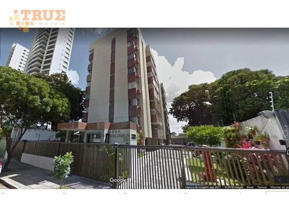 Apartamento Com 3 Dormitórios Para Alugar, 106 M² Por R$ 1.600/mês - Madalena - Recife/pe - Ap2949