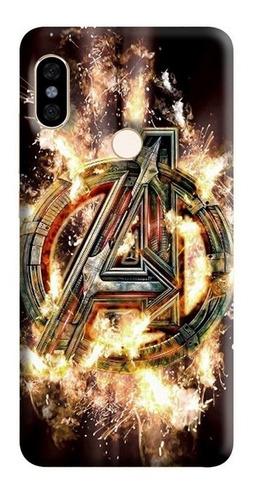 Estuche Forro Carcasa Avengers Ultron Xiaomi Motorola Asus