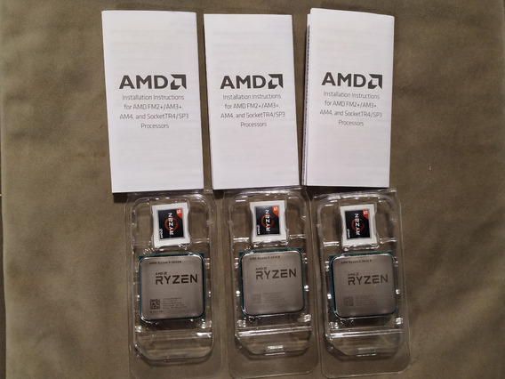 Processador Ryzen 5 2600x 6 Núcleo Somente Processador Novo