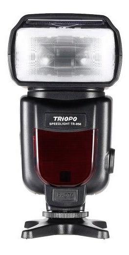 Flash Triopo Para Canon E Nikon E Sony Tr-950