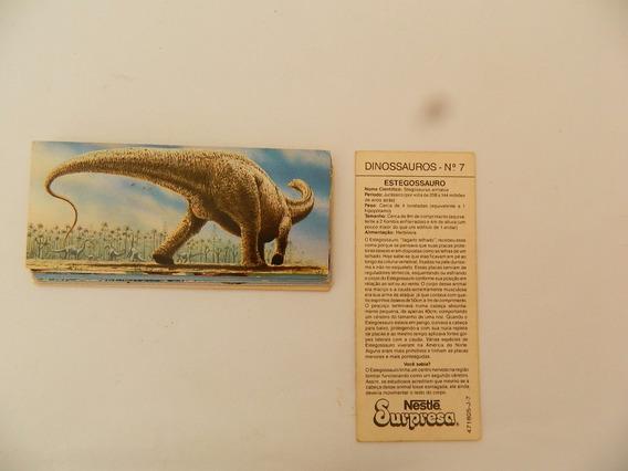 Figurinhas Card Nestlé Surpresa Dinossauros Leia O Anuncio ¢