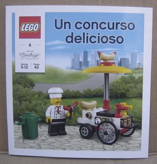 Lego City Un Concurso Delicioso Pancho Panchero - Nacion