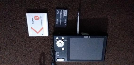 Sony Cyber Shot, Lente Carl Zeiss 14.1 Mp. W320