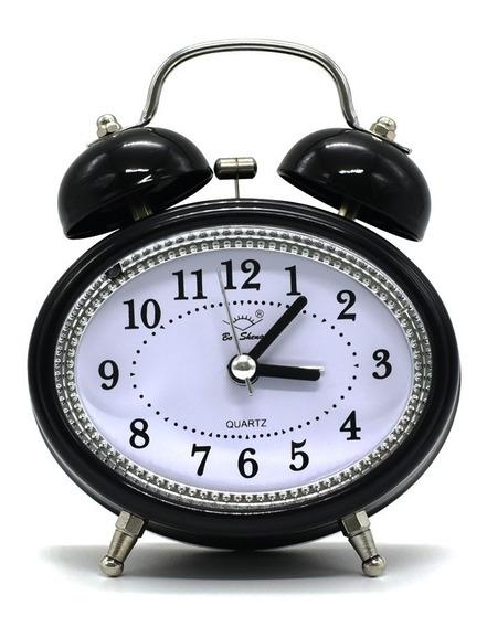 Relógio E Despertador Vintage Oval
