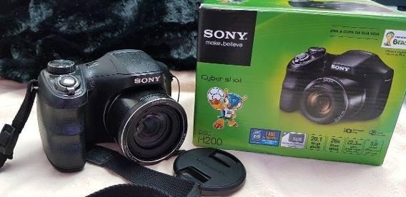 Câmera Digital Sony Cyber-shot Dsc-h200/bb Br4