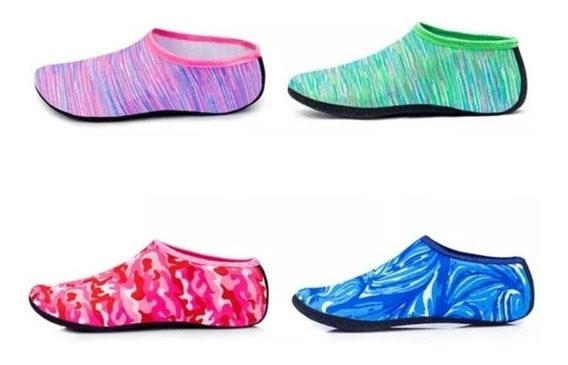 Aqua Shoes Antideslizantes Zapatos Para Agua Piscina Playa