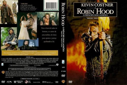 Dvd Robin Hood O Príncipe Dos Ladrões Kevin Costner