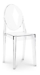 Silla Ghost Transparente Phillipe Starck Diseño Eames /kubus