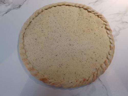 Imagen 1 de 8 de Masa Pizza Precocida Rebordeada 30cm 300g - g a $8