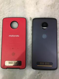 Celular Moto Z2 Play Com Snap Bateria