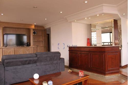 Apartamento 220m², 4 Dormitorios, 2 Suíte, 4 Vagas - Bosque Da Saúde - Ap11004