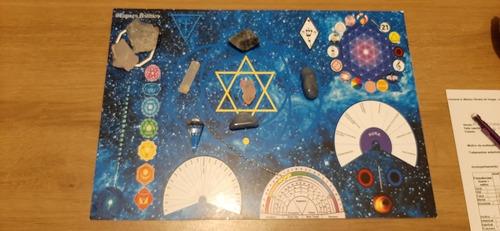 Imagem 1 de 2 de Atendimento On-line Mesa Radiônica Cristal Azul