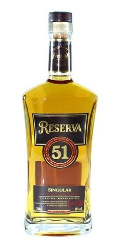 Cachaça Reserva 51 Singular 700ml