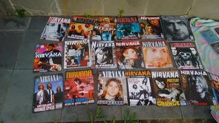 Super Coleção Nirvana ( Revista, Cd, Dvd, E Livro)