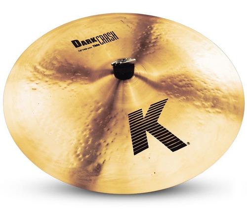 Platillo Zildjian K0905 K Series -  K Dark Thin Crash De 19