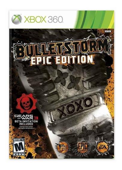 Bulleststorm Epic Edition - Xbox 360 - Novo - Lacrado