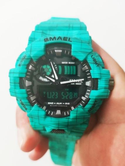 Relógio Masculino Smael 8001 Esportivo Prova D