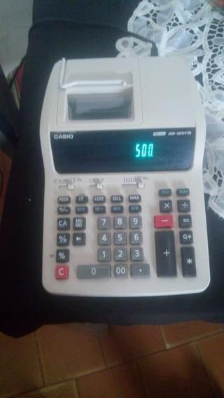 Calculadora O Sumadora Casio Dr-120tm