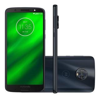 Smartphone Moto G6 Plus Xt1926 64gb Tela 5.9 Android 8.0.