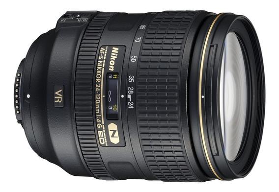 Lente Nikon Objetiva 24-120mm F/4g Ed Vr Fx Semi Nova