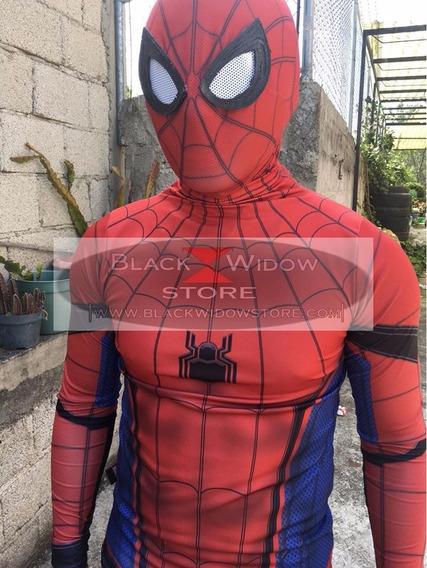 Mascara Spiderman Homecoming Amazing Black Widow Store