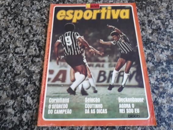 Revista: Manchete Esportiva N° 1. Corinthians Campeão 1977.