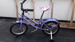 Bicicleta Niña Halley Rodado 16