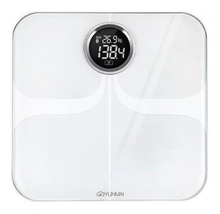 Balança corporal digital Yunmai Premium branca