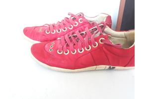 Tenis Osklen Vermelho Feminino