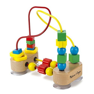 Melissa Doug First Bead Maze Juguete Educativo De Madera