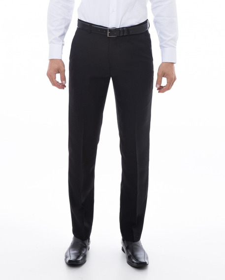 Calça Masculina Social Slim Tecido Oxford Melhor Preço Do Ml