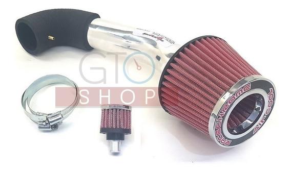 Kit Air Cool Filtro Ar Esportivo Vm Gol Fox Polo Golf 1.6cc