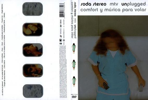 Soda Stereo Comfort Y Musica Para Volar Dvd Open Music Sy