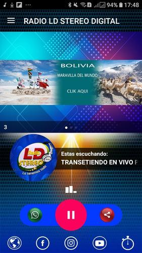 Imagem 1 de 2 de Aplicativo De Rádio Slider - Vários Layout A Escolha